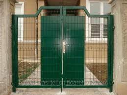 Çift Kanatlı Çit Kapı
